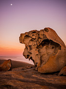 Remarkable Rocks Print by Ryan  Carter
