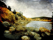 Watson Lake Photo Metal Prints - Rembrandt Colors Metal Print by Arne Hansen