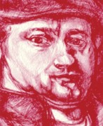 Bic Artist Prints - Rembrandt  Print by Jerry  Stith