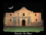 The Alamo Framed Prints - Remember the Alamo Framed Print by Carol Groenen