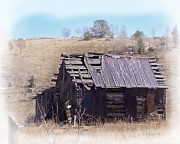 Old Barns Photo Prints - Remember When Print by Ernie Echols