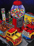 Toy Truck Framed Prints - Remember When Framed Print by Rich Travis