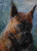 Brindle Prints - Remembering Clara Print by Frieda Bruck
