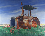 Tractor Originals - Remembrance Of A Tractor by Glen Heberling