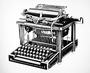 Remington Prints - Remington Typewriter Print by Granger