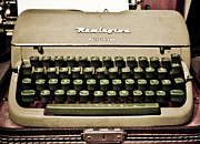 Remington Metal Prints - Remington Typewriter Metal Print by Marilyn Hunt
