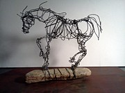 Animals Sculptures - Remme Martin by Kim Bruce