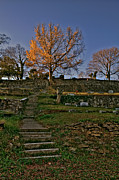 Grave Photo Originals - Remnants of Fall by Jason Blalock