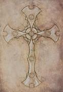 Renaissance Cross I Print by Seth Chamberlin