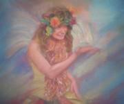 Renaissance Festival Fairy Print by Diane Caudle