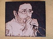 Box Pyrography - Renato Russo by George Wandega