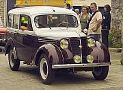 French Photo Originals - Renault Juvaquatre  AVintage French Car by Mark Hendrickson