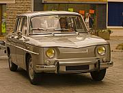 French Photo Originals - Renault R 8  A Vintage French Car by Mark Hendrickson
