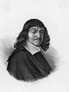 Famous Person Portrait Posters - Rene Descartes, French Polymath Poster by Science Source