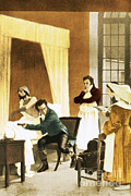 Observation Posters - Rene Laennec, French Physician Poster by Science Source