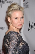Premiere Metal Prints - Renee Zellweger At Arrivals Metal Print by Everett