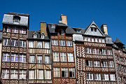 Timber Framed Prints - Rennes Framed Print by Jane Rix