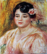 Adele Framed Prints - Renoir: Adele Besson, 1918 Framed Print by Granger