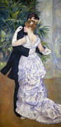 Pierre Renoir Framed Prints - Renoir: Town Dance, 1883 Framed Print by Granger