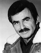 1987 Metal Prints - Rent-a-cop, Burt Reynolds, 1987 Metal Print by Everett
