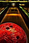Bowling Alley Prints - Rental Print by Joetta West