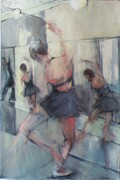 Ballet Dancers Originals - Repeated Plie by Michelle Winnie