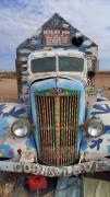 Salvation Mountain Posters - Repent Poster by Skip Hunt