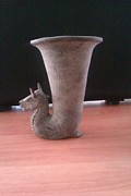 Antique Ceramics - Reproduction Of Antique Rhyton by Dimitar Andinov