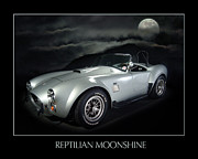 Reptilian Moonshine Print by Robert Twine