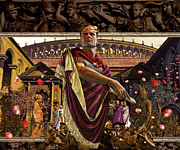 Ancient Rome Mixed Media - Republic of Rome by Kurt Miller