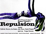 Polanski Posters - Repulsion, Poster, 1965 Poster by Everett