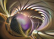 Computerart Prints - Requiem - Fractal art Print by Sipo Liimatainen
