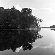 Connecticut Acrylic Prints - Reservoir Reflection Acrylic Print by Adam Garelick