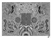 Pointillism Drawings - Reset Preset by Patrick Carter
