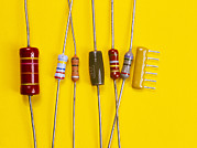 Component Photos - Resistors by Andrew Lambert Photography