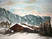 Samir Sokhn - Rest house at the Alps