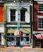 Thomas Akers Metal Prints - Restaurant Metal Print by Thomas Akers