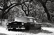 Antique Car Originals - Resting Amongst the Oaks by Marilyn Hunt