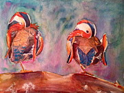 Tiffany Albright - Resting Wood Ducks
