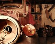 Restoration Garage Print by Steven Milner
