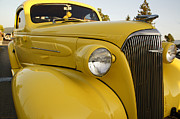 Mick Anderson - Restored Yellow Chevy