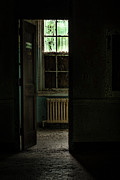 Abandoned Building Framed Prints - Resuscitator Room Framed Print by Gary Heller