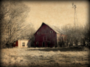 Barn Photos - Retired 2 by Julie Hamilton