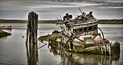 Old Shipwreck Photos - Retired by Heather Applegate