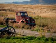 Time Gone By Photos - Retired in Montana by Idaho Scenic Images Linda Lantzy