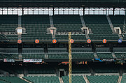 Oriole Park Prints - Retired Numbers of The Orioles Greatest Ever Print by Paul Mangold