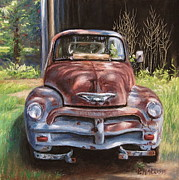 Chevrolet Pastels - Retired Old Friend by Patricia Harriss