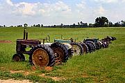 Tractors Mixed Media - Retired by Ralph  Perdomo