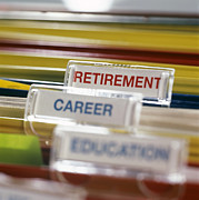 Labelling Posters - Retirement Plans Poster by Tek Image