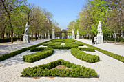 Municipal Prints - Retiro Park in Madrid Print by Artur Bogacki